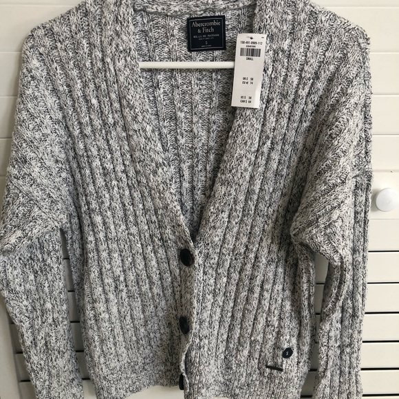 abercrombie and fitch cardigan